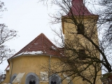 Břvany – kostel sv. Martina 2010