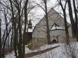 Minice – kostel sv. Martina zima 2010