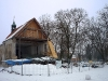 Lenešice - kostel sv. Šimona a Judy zima 2010