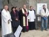 Požehnání základů věže kostela v Lenešicích 6.5.2010