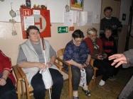 Koledy v domově důchodců 2011