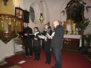 koncert v kostele Lenešice 25.10.2015