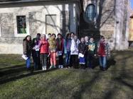 Návštěva školních dětí v kostele 24.2.2014