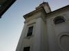 oprava římsy kostela