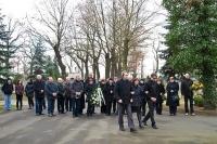 pohřeb Karla Kutlaka v Postoloprtech