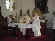 Požehnání kostela Lenešice 21. 4. 2013