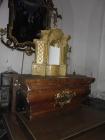 restaurátorské práce na oltáři kostela Lenešice