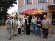 Setkání děkana s maturanty po 56 letech v Teplicích
