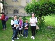soutěže dětí z náboženství Lenešice 2015