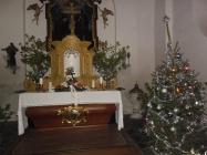 Vánoční mše v kostele Lenešice 2015