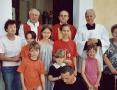 Svěcení kaple - Mradice 2002
