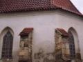 Oprava střechy v Bitozevsi 2005