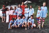 Fotbalové utkání dětí 2006
