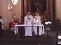 Biřmování s otcem biskupem Pavlem Posádem 2006