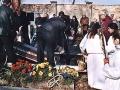 Pohřeb kostelníka J.Košťála ze Břvan