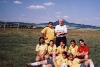 Zápas dívek červen 2007