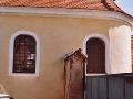 Úpravy kaple v Mradicích 2007