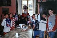 Setkání dětí s Mikulášem 2008