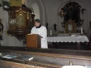 Obrázky Svatého týdne v kostele Lenešice 2016