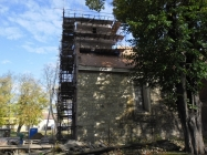 oprava veze kostela Lenesice 2017