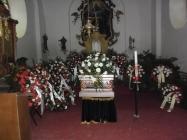 pohřeb Milady Dubské Lenešice 2017