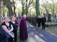 pohřeb vojenský v Postoloprtech