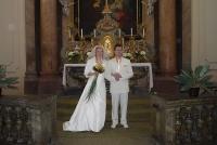 Svatba v kostele v Postoloprtech 4-2010