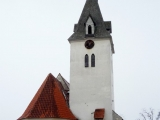 Bítozeves – kostel sv. Michaela archanděla zima 2010