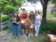 Dětské soutěže na faře Lenešice 6.6.2014