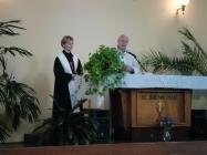 ekumenická bohoslužba v Lounech 15.10.2014