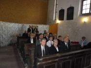 pohřební obřad v kostele Lenešice Zdenky Schonfeldové 13.6.2014