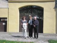 Účast emeritního děkana z Lenešic na mši v Nehasicích 6.9.2014