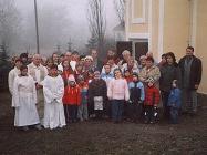 Svěcení kaple Zálezly 2006