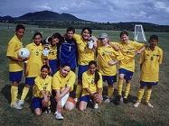 Dívky Porty vs Břvany červen 2009