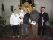 křest v Lenešicích - velikonoce 2016