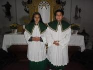 Noví ministranti Lenešice