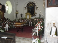 Pohřeb Josefa Eisenhammera Lenešice 2017